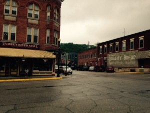 Downtown Elkader had several antigue shops that we went through, also. Making for great stop along the way.